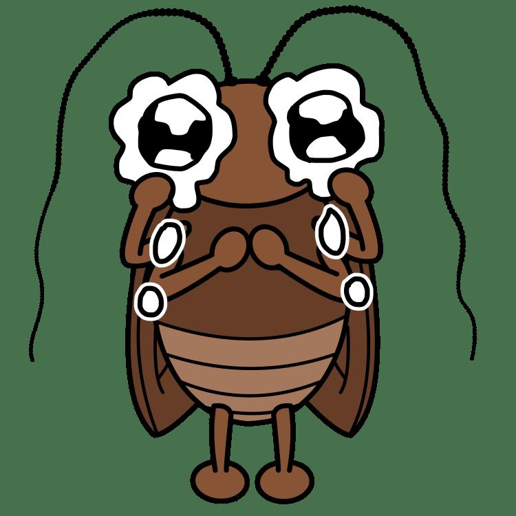 泣くゴキブリ