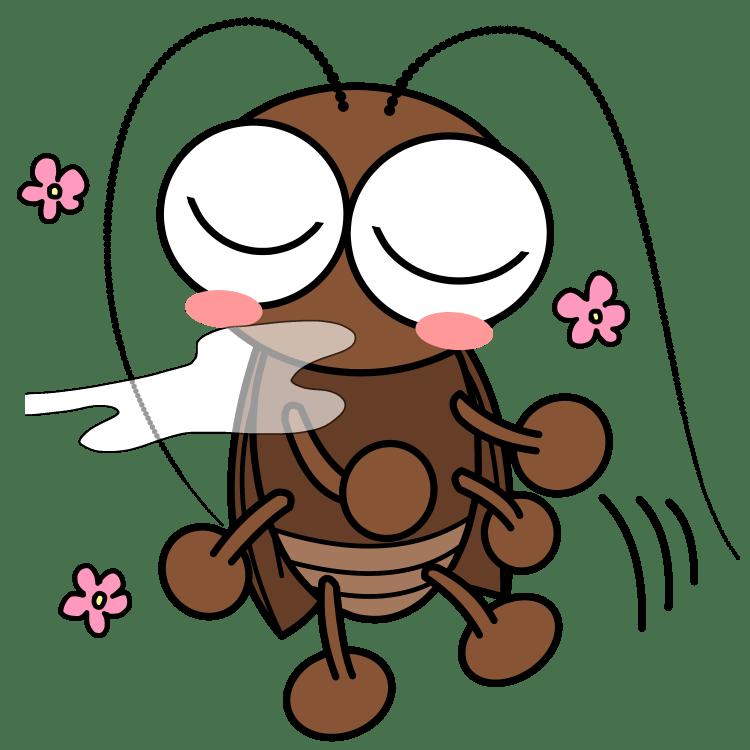 いい匂いに誘われるゴキブリ