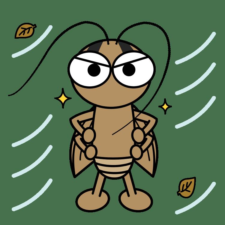 寒さに強いチャバネゴキブリ