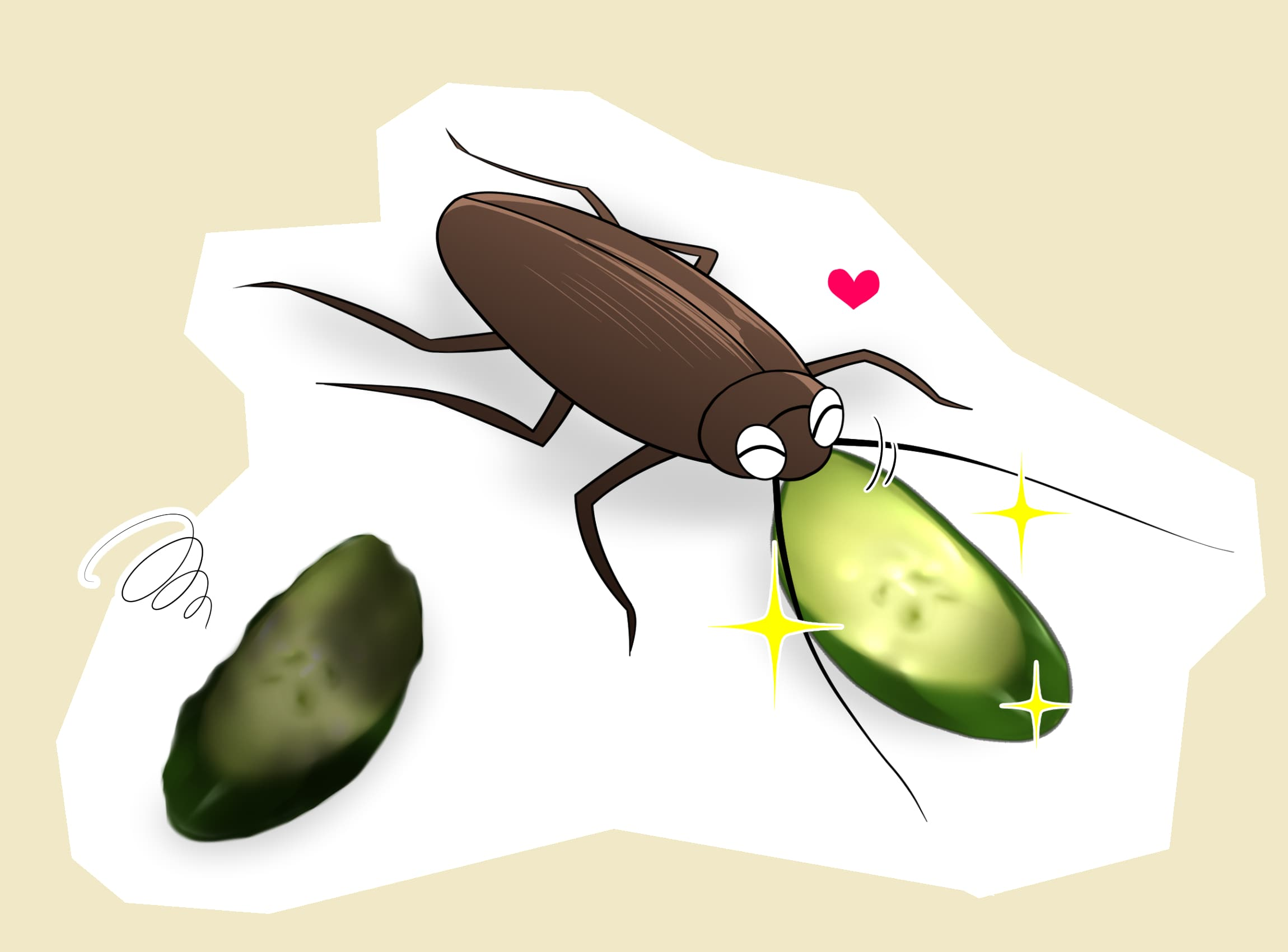 味の違いが分かるグルメなゴキブリ