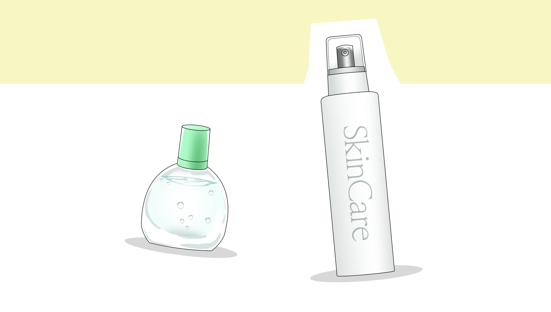 目の洗浄液やスキンケア用品