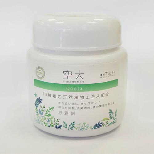 忌避消臭抗菌剤 空大Qoota 置き型