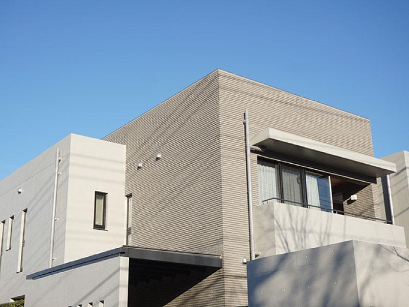 コンクリート造りの家