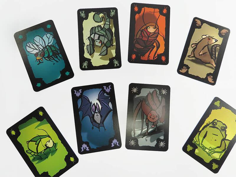 ごきぶりポーカーの8種類のカード