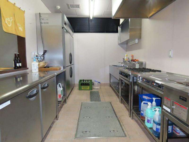 ダスキンの研修センターにある居酒屋さんの厨房を再現した研修施設